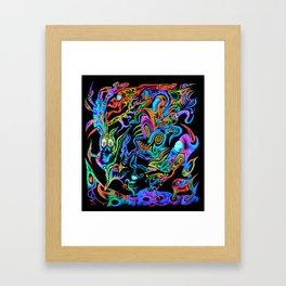 Intergalactic Fool Framed Art Print