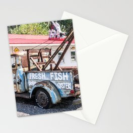 Fresh Fish Truck Stationery Cards