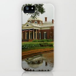Morning At Monticello - Jeffersons Home iPhone Case