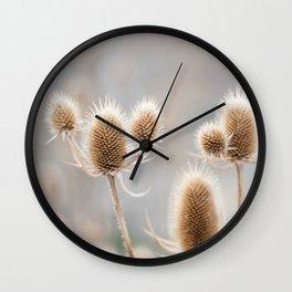Thistles Wall Clock