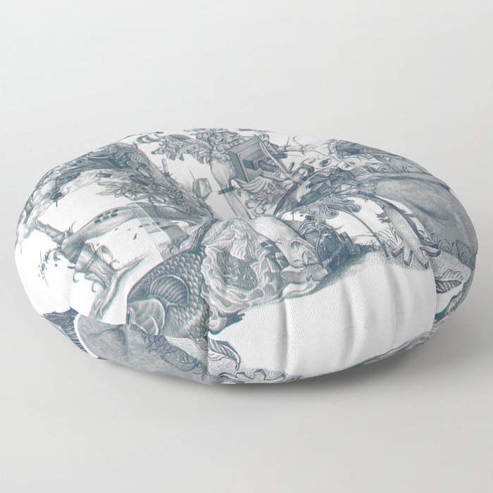 seam imaginations Floor Pillow