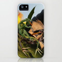 Battle for Dragon Mountain iPhone Case