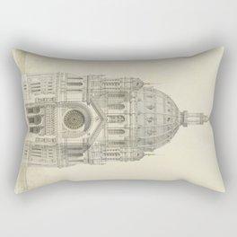 Church of St. Augustine Paris Rectangular Pillow