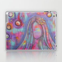 Right Here With Me   Original painting by Mimi Bondi Laptop & iPad Skin
