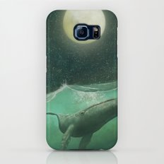 The Whale & The Moon Galaxy S6 Slim Case