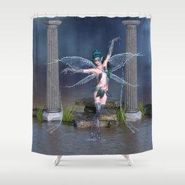 Transformation Shower Curtain