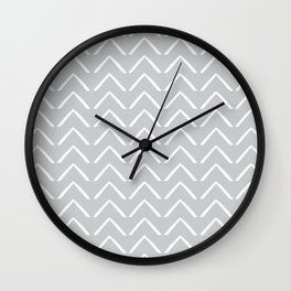 BIG ZIGZAG Wall Clock