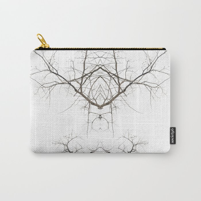 Mirrored Trees 1 Carry-All Pouch