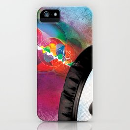 feeling sound iPhone Case