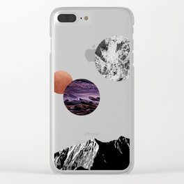 Space I Clear iPhone Case