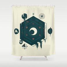 Crescent Shower Curtain