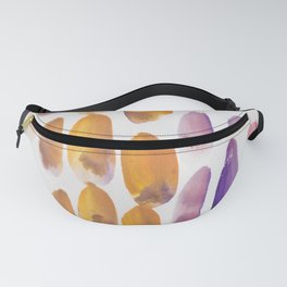 45| 190330 Watercolour Abstract Brush Strokes Fanny Pack