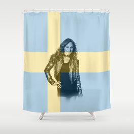 ESC Sweden 1999 Shower Curtain