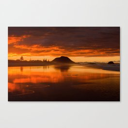 Storm Sunset Canvas Print