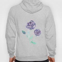 Purple Rose Bush Hoody