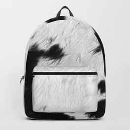 Spotted Cowhide Backpack