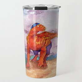 Beach Ball Dinosaur - Barney Travel Mug