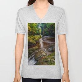 Fairy Glen Gorge Unisex V-Neck