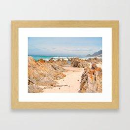 """Betty's Bay"" by ICA PAVON Framed Art Print"