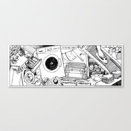 It's the small things...Laundry Canvas Print