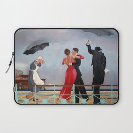 The Singing Butler in Brighton Laptop Sleeve