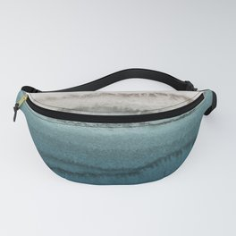 WITHIN THE TIDES - CRASHING WAVES TEAL Fanny Pack