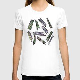 wood pieces T-shirt