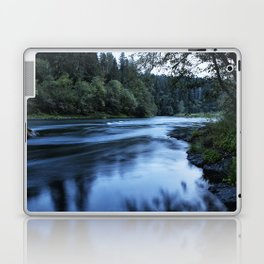 River Blue Laptop & iPad Skin