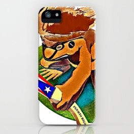 Coqui iPhone Case