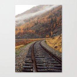 Seasonal Tracks Canvas Print