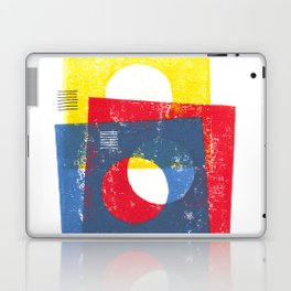 Basic in red, yellow and blue Laptop & iPad Skin