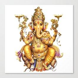 Ganesha - Hindu Canvas Print