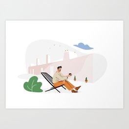 In Alentejo Art Print