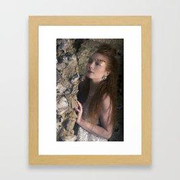 Talon Dragon Portrait Framed Art Print