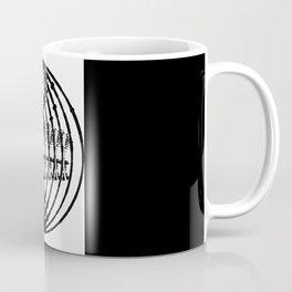 Downtown Circle Print Coffee Mug
