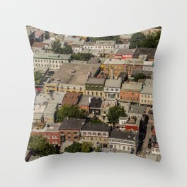 Old sector Throw Pillow