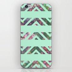 tribal florals iPhone & iPod Skin