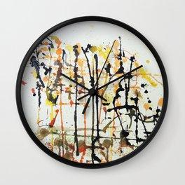 Unique Watercolour Tiger Wall Clock