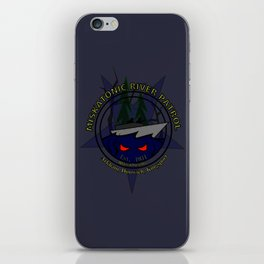 Miskatonic River Patrol iPhone Skin