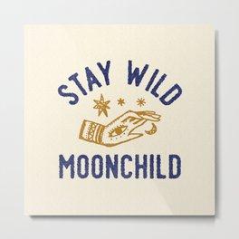 Wild Moonchild Metal Print