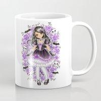 lolita Mugs featuring Gothic Lolita by SilverChaim