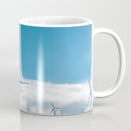 The Wind Farm (Color) Coffee Mug