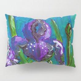 Iris by Mary Bottom Pillow Sham