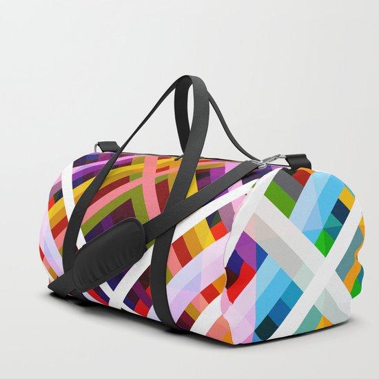 Colorful Abstract Symmetric Grit Art - Ratatoskr by alphaomega