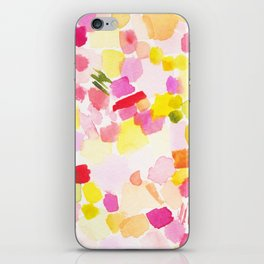 Vacation Abstract Watercolor Painting iPhone Skin