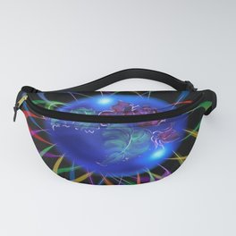 Abstract in Perfection - Rose 3 Fanny Pack