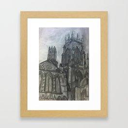 YorkMinster  Framed Art Print
