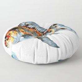 Happy Nowruz Shubunkin Goldfish Persian New Year Floor Pillow