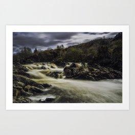 Riverfall Art Print