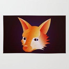 Red Little Fox Rug